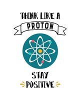 Framed Think Like A Proton White