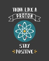Framed Think Like A Proton Gray