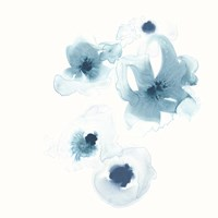 Framed Protea Blue III