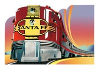 Framed Santa Fe