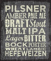 Framed Beer Sign II