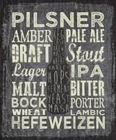 Framed Beer Sign III