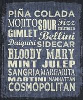 Framed Cocktail Sign II