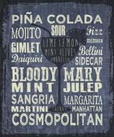 Framed Cocktail Sign III