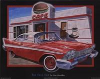 Framed Cafe Car