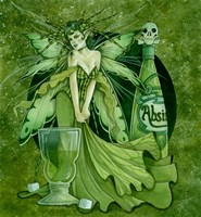 Framed Absinth Fairy