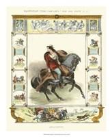 Framed Equestrian Display II