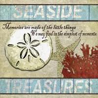 Framed Seaside Treasures