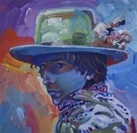 Framed Bob Dylan 70S