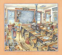 Framed Schoolroom