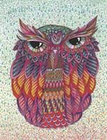 Framed Amazing Owl