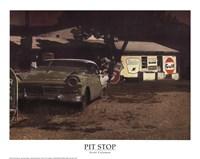 Framed Pit Stop