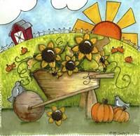 Framed Fall Harvest