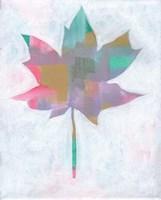 Framed Leaf Abstract II