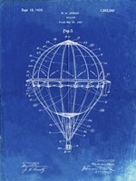 Framed Balloon Patent - Faded Blueprint