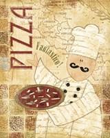 Framed Pizza & Pasta I