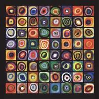 Framed Color of Squares