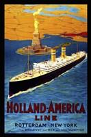 Framed Holland America Line