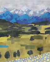 Framed Alpine Impression I