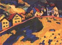 Framed Houses on a Hill, 1909