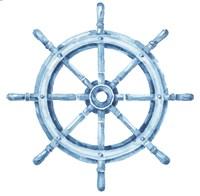 Framed Sea Life Wheel no Border