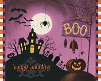 Framed Happy Haunting Boo