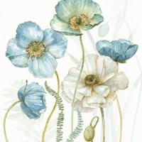 Framed My Greenhouse Flowers VI Crop