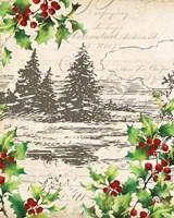 Framed Vintage Holiday II