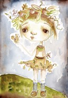 Framed Acorn Princess