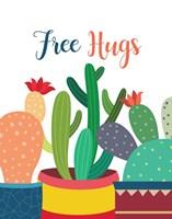 Framed Free Hugs