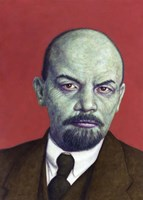 Framed Dead Red - Lenin