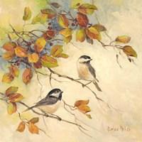 Framed Birds of Autumn II