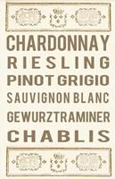 Framed White Wine