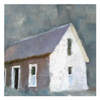 Framed Schoolhouse Grey