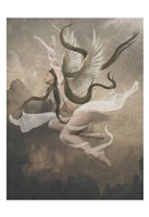 Framed Winged Fairie IV