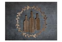 Framed Chalk Wine