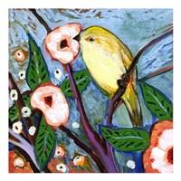 Framed Modern Bird VIII