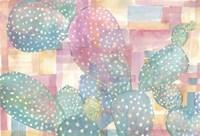 Framed Pink Succulents