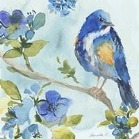 Framed Bird On Branch 2