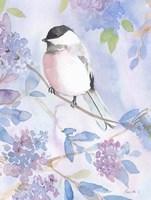 Framed Pastel Birds 2