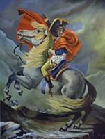 Framed Master Napoleon