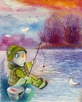 Framed Fisherman