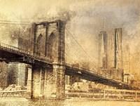 Framed City Skyline