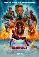 Framed Deadpool 2