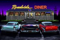 Framed Diners and Cars VIII