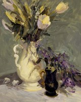 Framed Tulips & Lavender