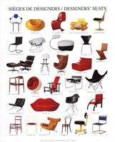 Framed Designers' Seats