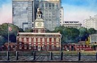 Framed Independence Hall 3