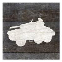 Framed Military Vehicle 4
