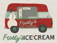 Framed Food Truck Holidays IV